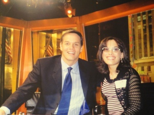 My dream job-- being Bill's co-anchor!   :-)