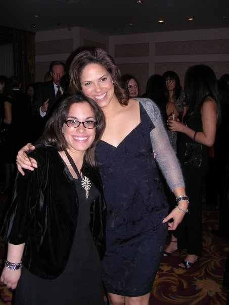 Soledad and I at the 2007 NAHJ Scholarship Banquet in NYC.